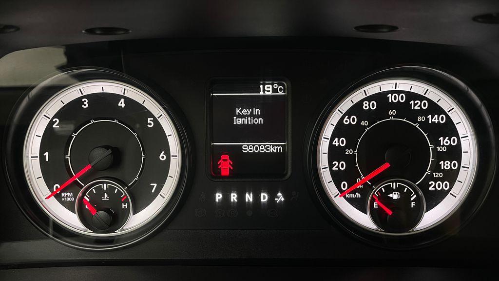 Green[Black Forest Green Pearl] 2016 Ram 1500 SXT 4WD - Crew Cab, 8 Speed Transmission, 3.6L V6 Odometer Photo in Winnipeg MB