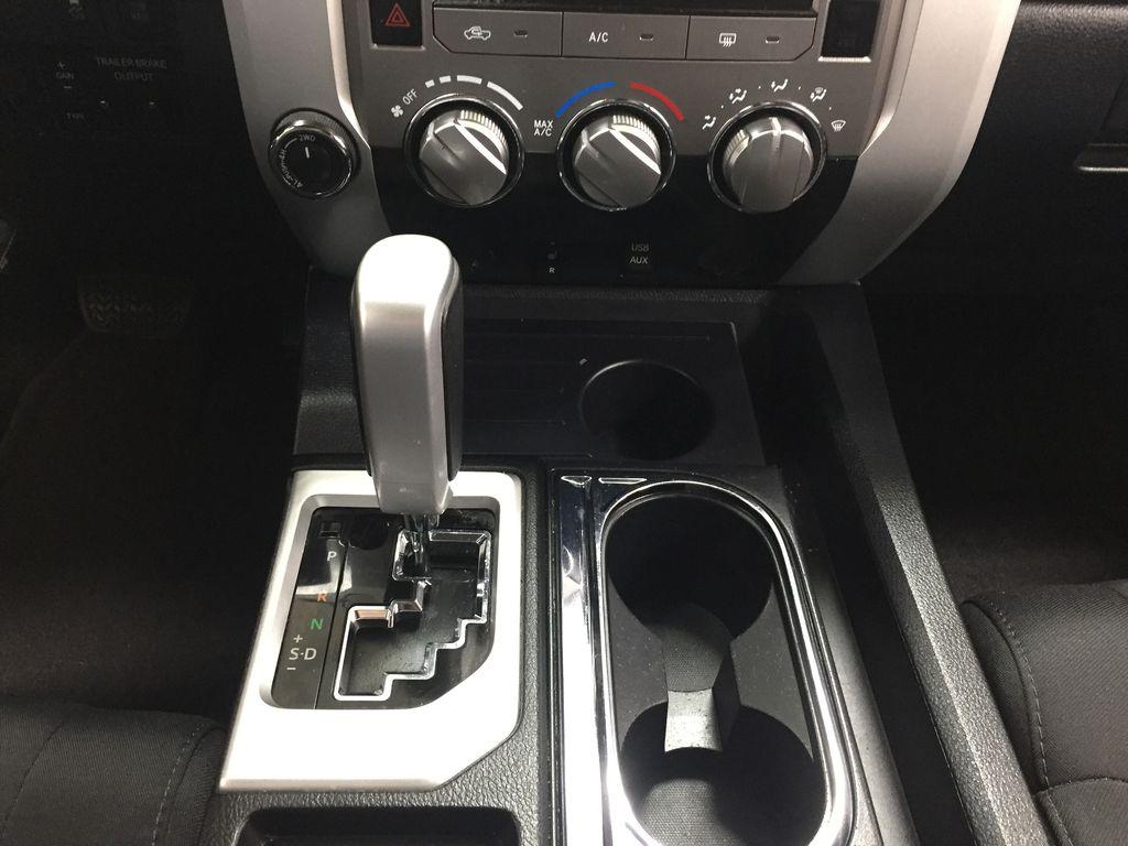 Silver[Silver Sky Metallic] 2017 Toyota Tundra CREWMAX 5.7L SR5 Lower Dash Photo in Sherwood Park AB