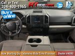 Black[Shadow Black] 2018 Ford F-150 XLT 4WD - SuperCrew, V6 Central Dash Options Photo in Winnipeg MB