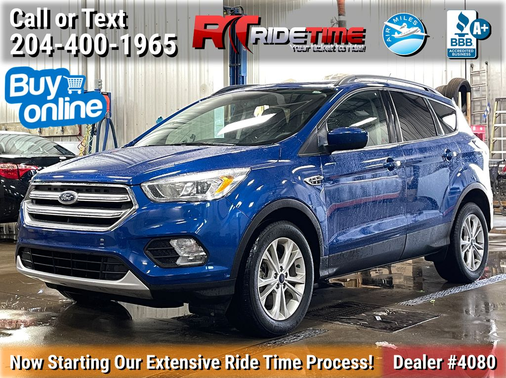 Blue[Lightning Blue] 2017 Ford Escape SE 4WD - MyFord Touch, Heated Seats, Backup Cam