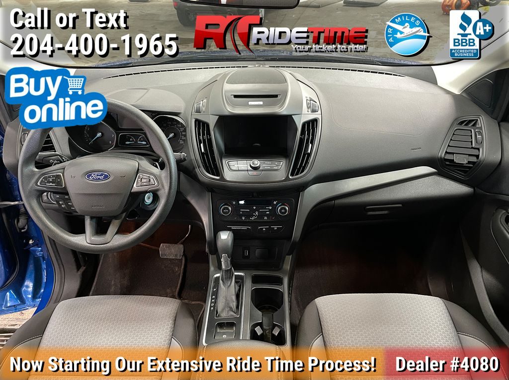Blue[Lightning Blue] 2017 Ford Escape SE 4WD - MyFord Touch, Heated Seats, Backup Cam Central Dash Options Photo in Winnipeg MB