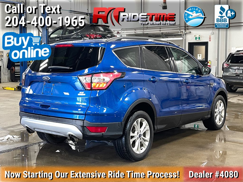 Blue[Lightning Blue] 2017 Ford Escape SE 4WD - MyFord Touch, Heated Seats, Backup Cam Right Rear Corner Photo in Winnipeg MB