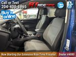 Blue[Lightning Blue] 2017 Ford Escape SE 4WD - MyFord Touch, Heated Seats, Backup Cam Left Front Interior Photo in Winnipeg MB
