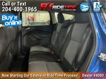 Blue[Lightning Blue] 2017 Ford Escape SE 4WD - MyFord Touch, Heated Seats, Backup Cam Left Side Rear Seat  Photo in Winnipeg MB