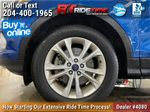 Blue[Lightning Blue] 2017 Ford Escape SE 4WD - MyFord Touch, Heated Seats, Backup Cam Left Front Rim and Tire Photo in Winnipeg MB
