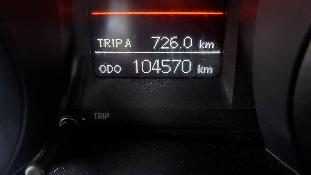 White[Alpine White] 2016 Toyota Corolla Odometer Photo in Kelowna BC