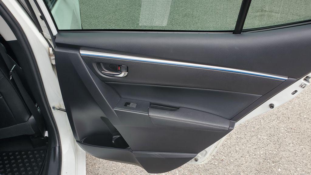White[Alpine White] 2016 Toyota Corolla Right Rear Interior Door Panel Photo in Kelowna BC