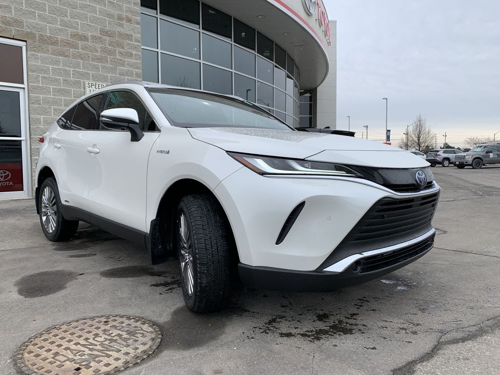 White[Blizzard Pearl] 2021 Toyota Venza XLE Package AVENBC AA Engine Compartment Photo in Brampton ON