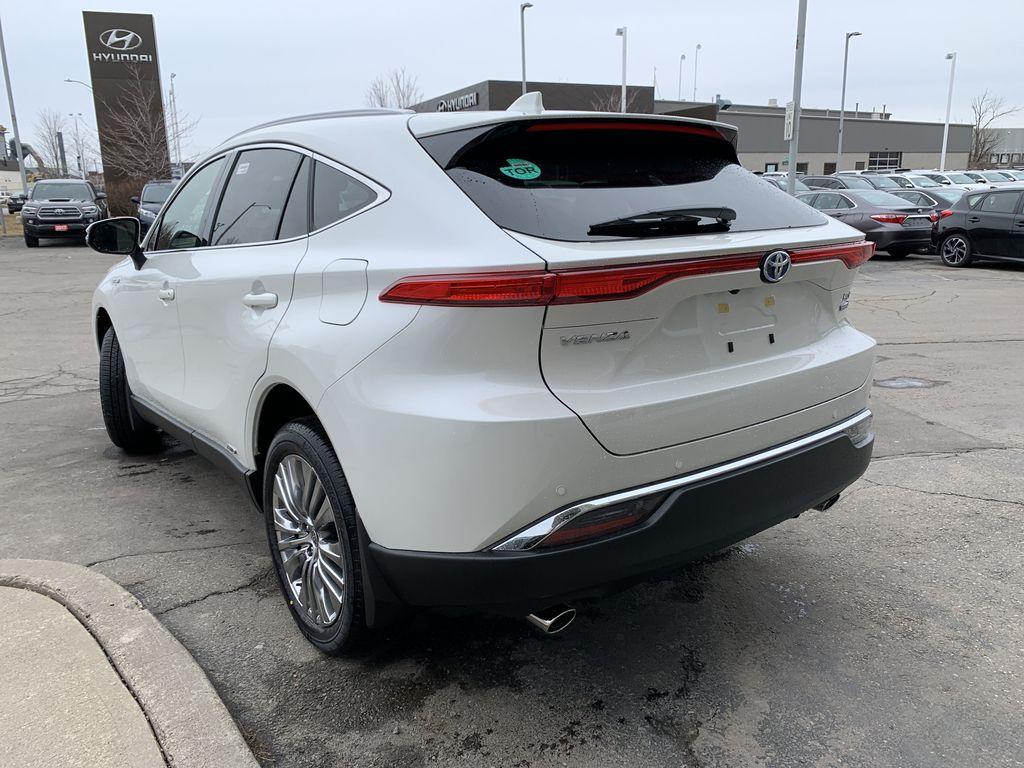 White[Blizzard Pearl] 2021 Toyota Venza XLE Package AVENBC AA Left Front Interior Door Panel Photo in Brampton ON