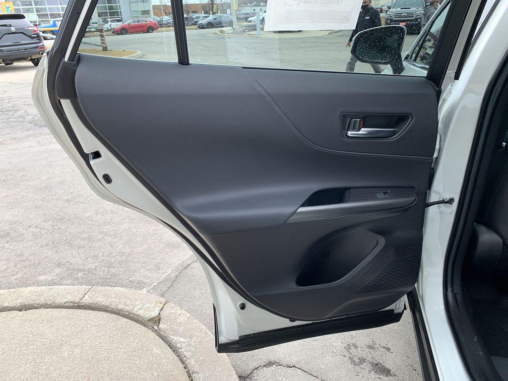White[Blizzard Pearl] 2021 Toyota Venza XLE Package AVENBC AA Left Side Rear Seat  Photo in Brampton ON