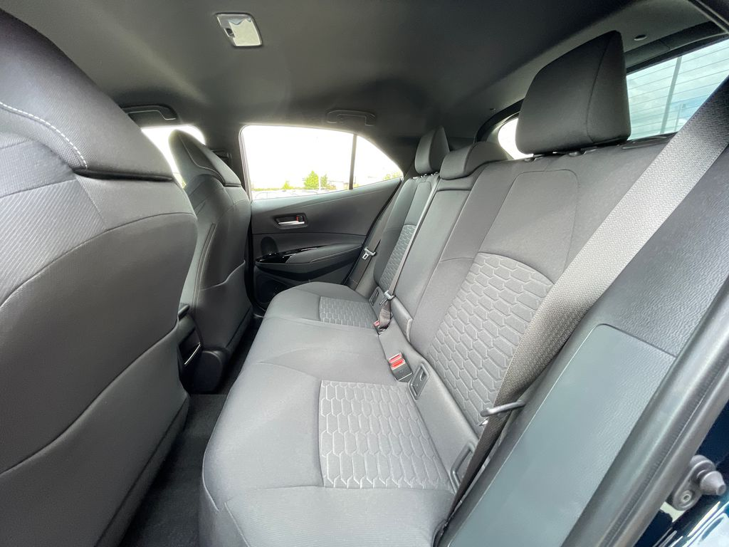 Blue[Galactic Aqua Mica] 2022 Toyota Corolla Hatchback Standard Package K4RBEC AM Right Side Rear Seat  Photo in Brampton ON