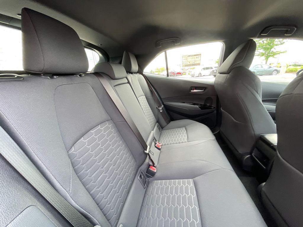 Blue[Galactic Aqua Mica] 2022 Toyota Corolla Hatchback Standard Package K4RBEC AM Right Front Interior Door Panel Photo in Brampton ON