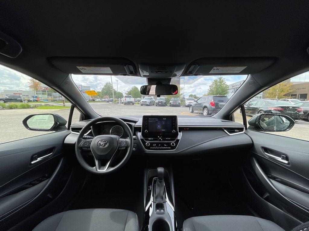 Blue[Galactic Aqua Mica] 2022 Toyota Corolla Hatchback Standard Package K4RBEC AM Right Rear Interior Door Panel Photo in Brampton ON