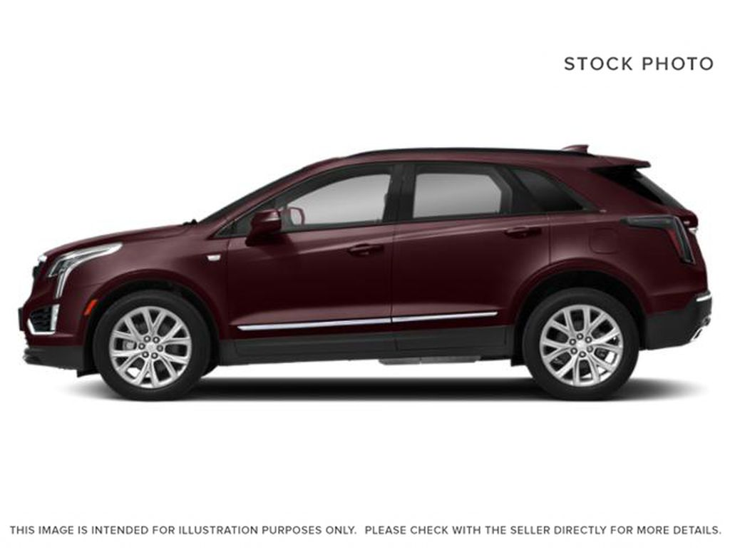 Red[Garnet Metallic] 2021 Cadillac XT5 Left Side Photo in Edmonton AB