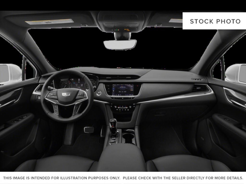 Red[Garnet Metallic] 2021 Cadillac XT5 Central Dash Options Photo in Edmonton AB