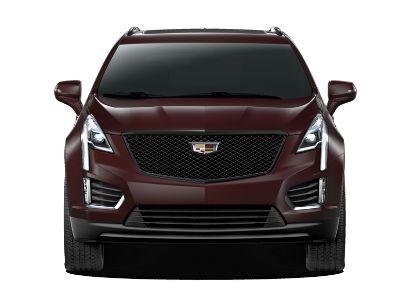 Red[Garnet Metallic] 2021 Cadillac XT5 Front Vehicle Photo in Edmonton AB