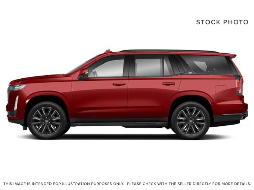 Red[Infrared Tintcoat] 2021 Cadillac Escalade Left Side Photo in Edmonton AB