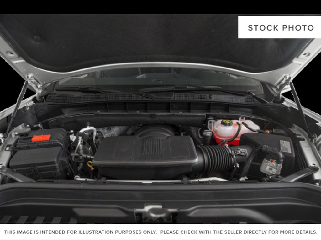 Cardinal Red 2021 GMC Sierra 1500 Engine Compartment Photo in Oshawa ON