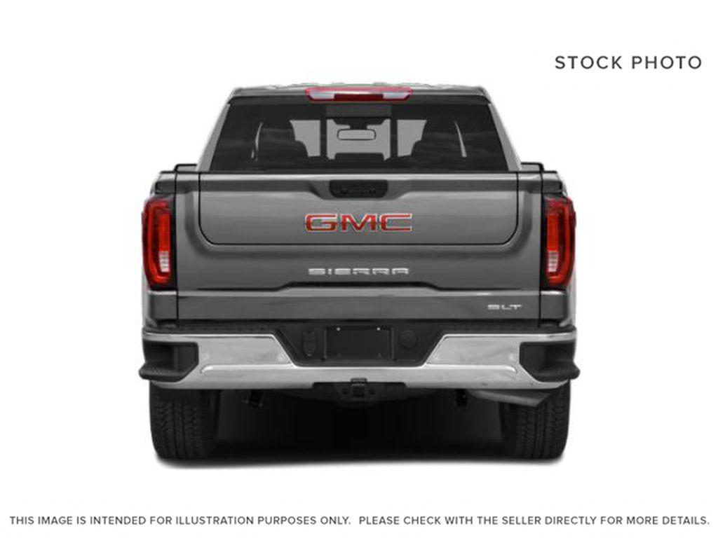 Onyx Black 2021 GMC Sierra 1500 Rear of Vehicle Photo in Oshawa ON