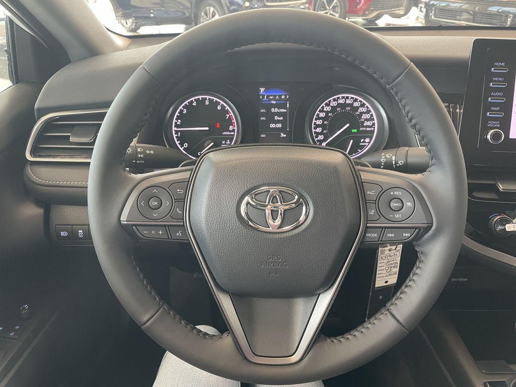 Super White 2021 Toyota Camry SE Fourth Row  Seat  Photo in Edmonton AB