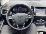 Black[Agate Black] 2019 Ford Edge Steering Wheel and Dash Photo in Brandon MB