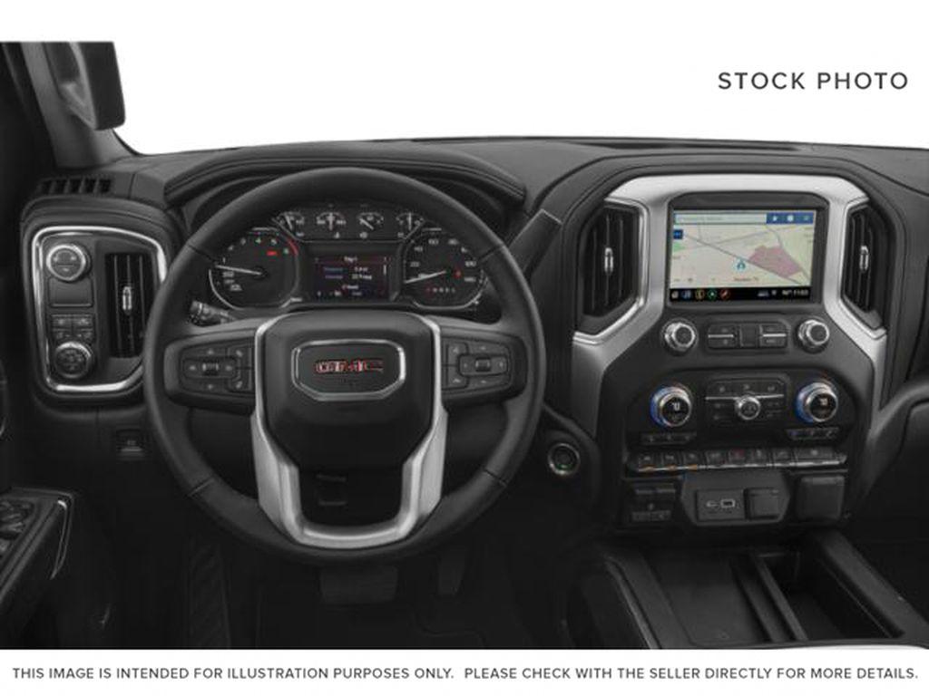 2020 GMC Sierra 1500 Steering Wheel and Dash Photo in Fort Macleod AB