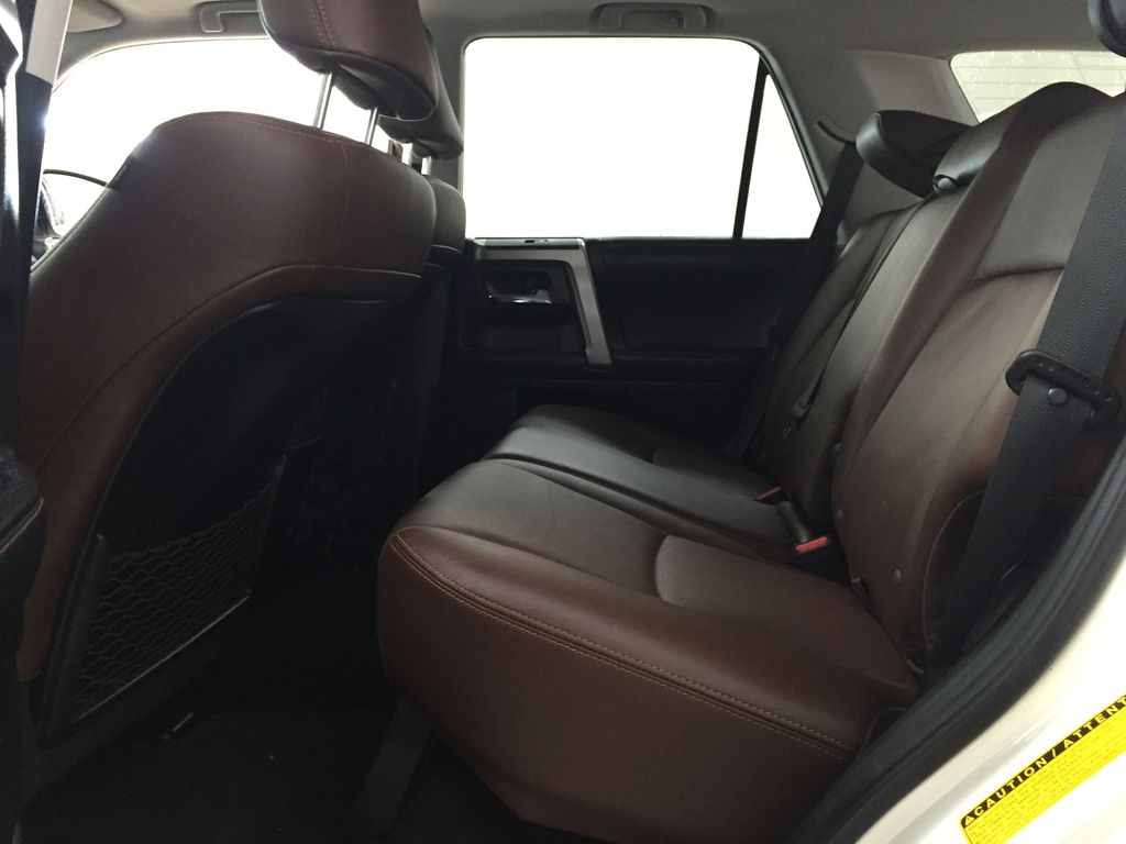 White[Blizzard Pearl] 2019 Toyota 4Runner Limited Left Side Rear Seat  Photo in Sherwood Park AB