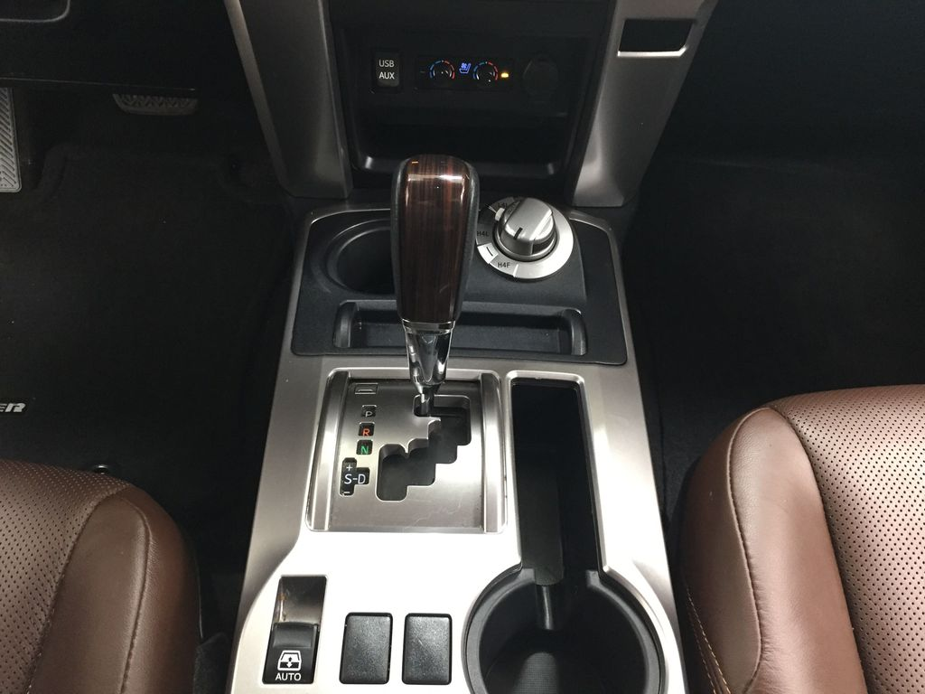 White[Blizzard Pearl] 2019 Toyota 4Runner Limited Lower Dash Photo in Sherwood Park AB