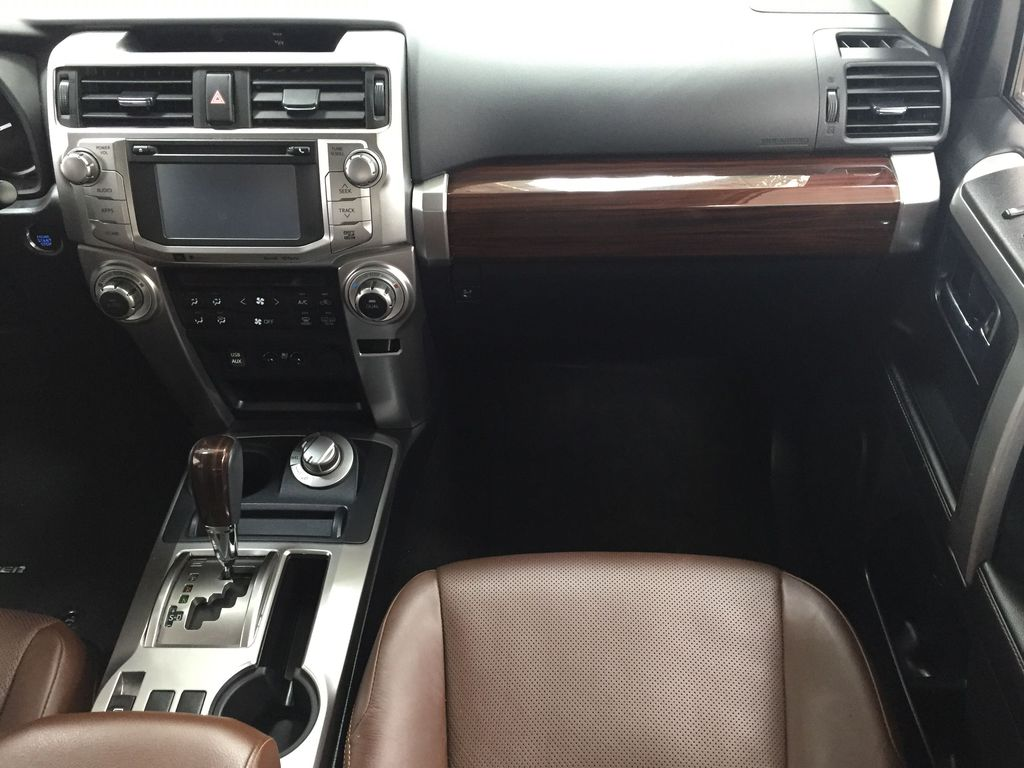 White[Blizzard Pearl] 2019 Toyota 4Runner Limited Right Front Seat Photo in Sherwood Park AB
