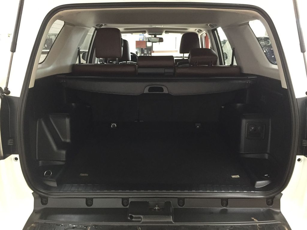 White[Blizzard Pearl] 2019 Toyota 4Runner Limited Cargo Area/Rear Seats Photo in Sherwood Park AB