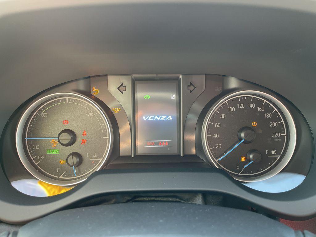 Gray[Coastal Gray Metallic] 2021 Toyota Venza AWD LE Package AVENAC AM Rear of Vehicle Photo in Brampton ON