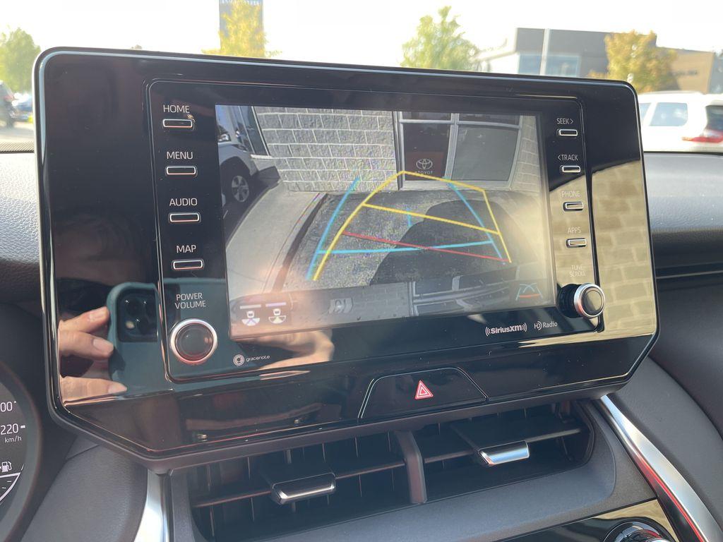 Gray[Coastal Gray Metallic] 2021 Toyota Venza AWD LE Package AVENAC AM Right Rear Interior Door Panel Photo in Brampton ON