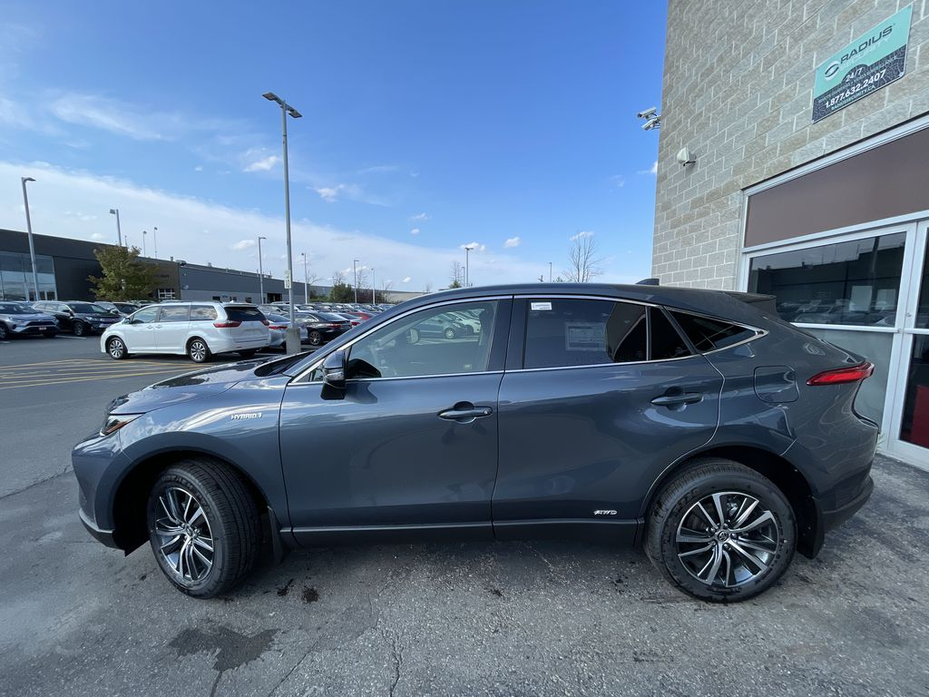 Gray[Coastal Gray Metallic] 2021 Toyota Venza AWD LE Package AVENAC AM Left Front Interior Door Panel Photo in Brampton ON