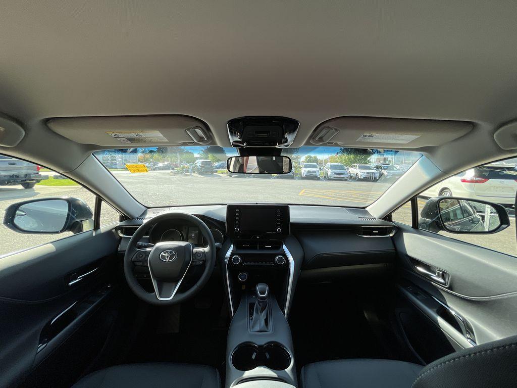 Gray[Coastal Gray Metallic] 2021 Toyota Venza AWD LE Package AVENAC AM Right Front Interior Door Panel Photo in Brampton ON