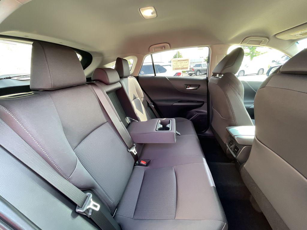 Gray[Coastal Gray Metallic] 2021 Toyota Venza AWD LE Package AVENAC AM Right Side Photo in Brampton ON