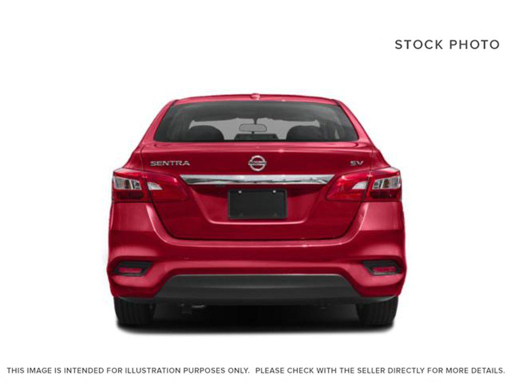 Black[Super Black] 2019 Nissan Sentra Rear of Vehicle Photo in Edmonton AB