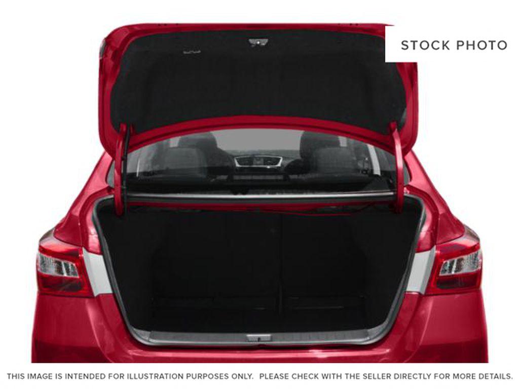 Black[Super Black] 2019 Nissan Sentra Trunk / Cargo Area Photo in Edmonton AB