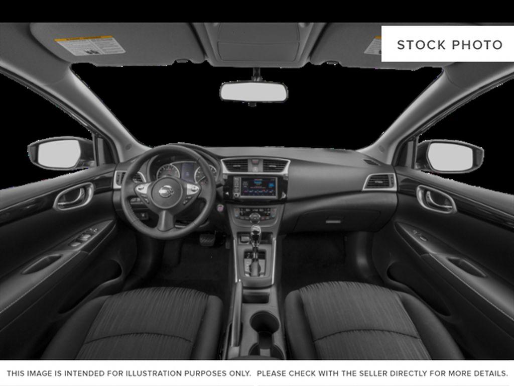 Black[Super Black] 2019 Nissan Sentra Central Dash Options Photo in Edmonton AB