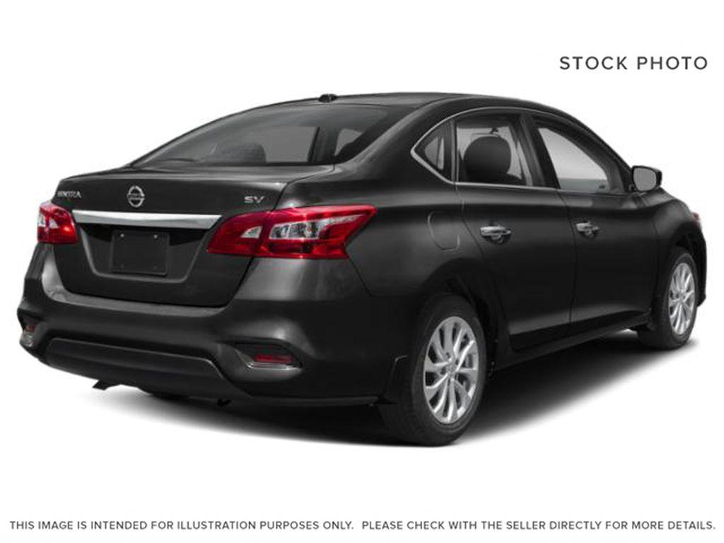 Black[Super Black] 2019 Nissan Sentra Right Rear Corner Photo in Edmonton AB