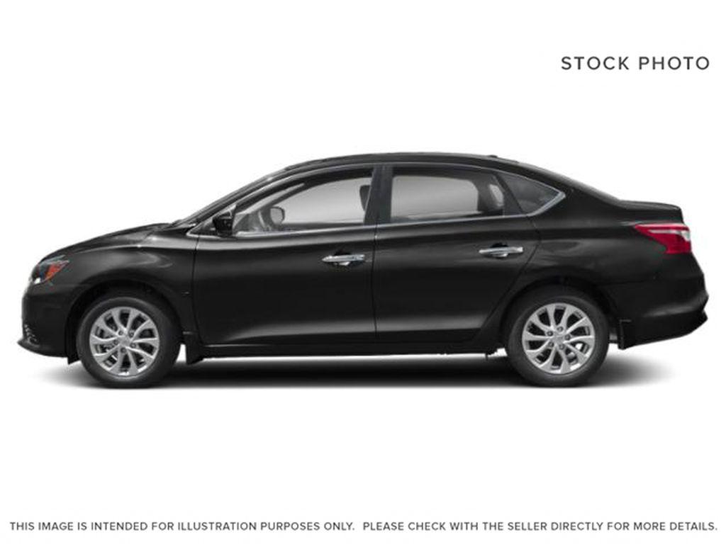 Black[Super Black] 2019 Nissan Sentra Left Side Photo in Edmonton AB