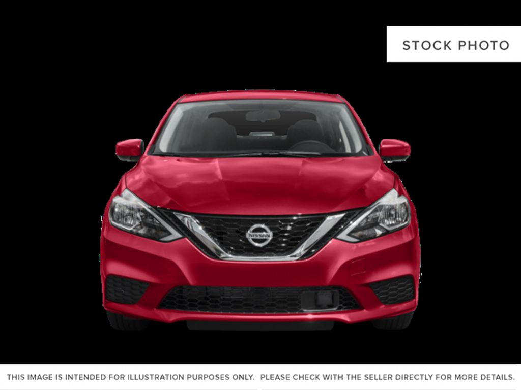 Black[Super Black] 2019 Nissan Sentra Front Vehicle Photo in Edmonton AB