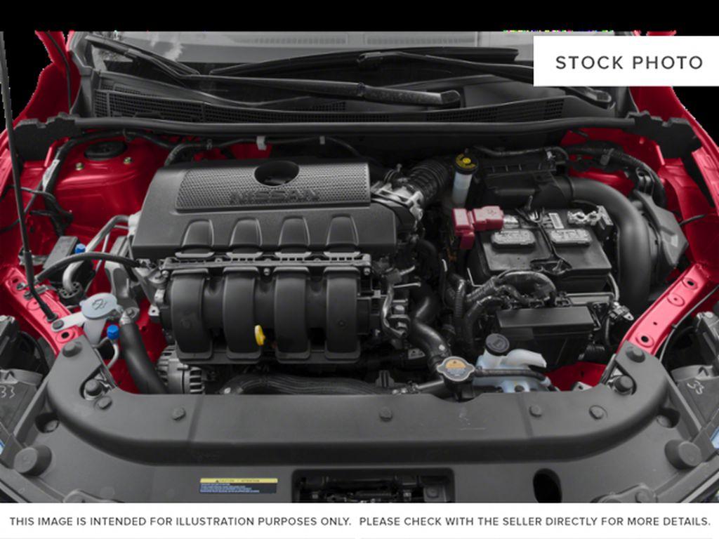 Black[Super Black] 2019 Nissan Sentra Engine Compartment Photo in Edmonton AB