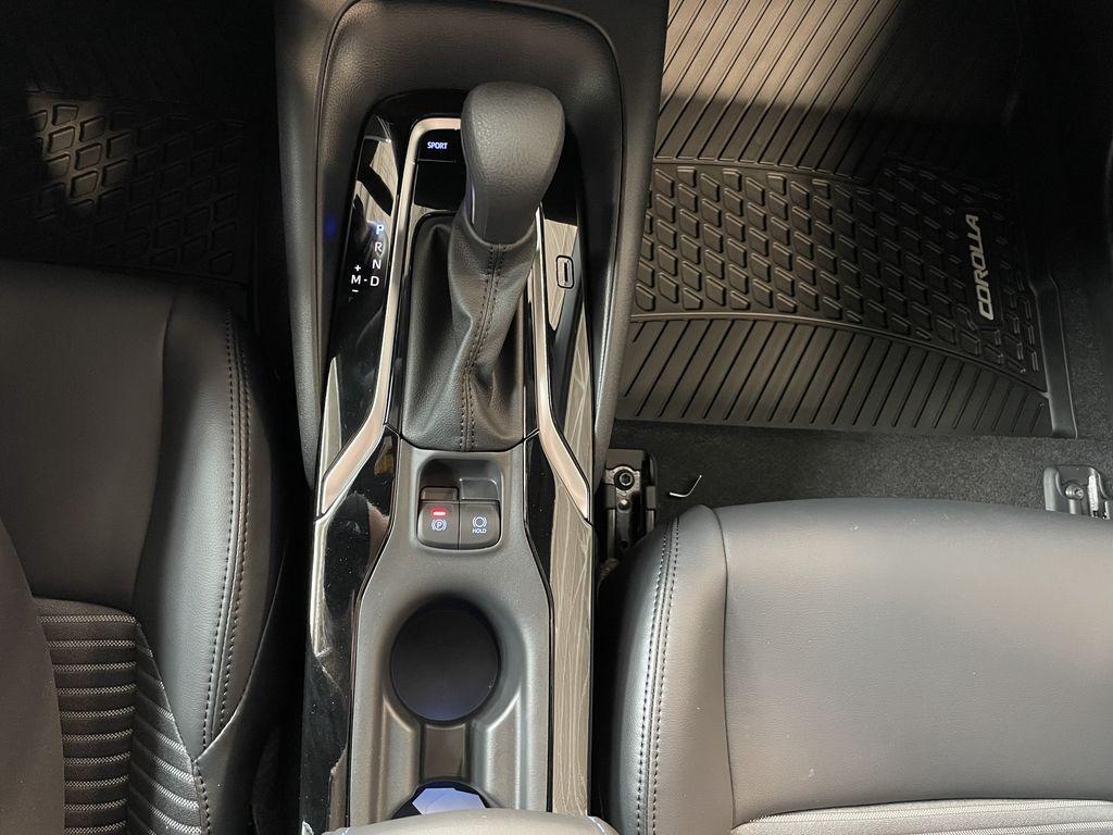 Blue Crush Metallic W/Black Roof 2022 Toyota Corolla XSE Engine Compartment Photo in Edmonton AB