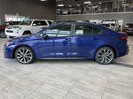 Blue Crush Metallic W/Black Roof 2022 Toyota Corolla XSE Left Side Photo in Edmonton AB