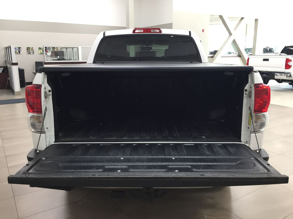 White[Alpine White] 2012 Toyota Tundra LIMITED CREWMAX 5.7L Cargo Area/Rear Seats Photo in Sherwood Park AB