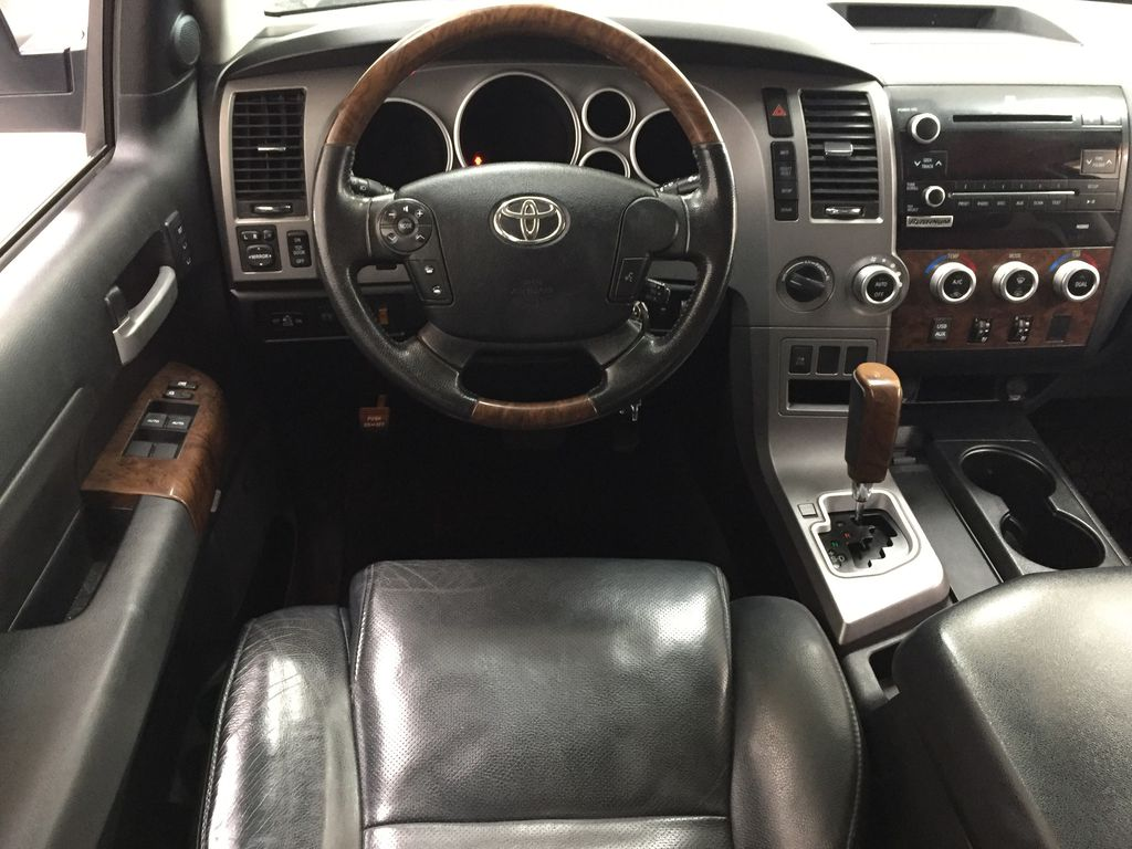 White[Alpine White] 2012 Toyota Tundra LIMITED CREWMAX 5.7L Left Front Seat Photo in Sherwood Park AB