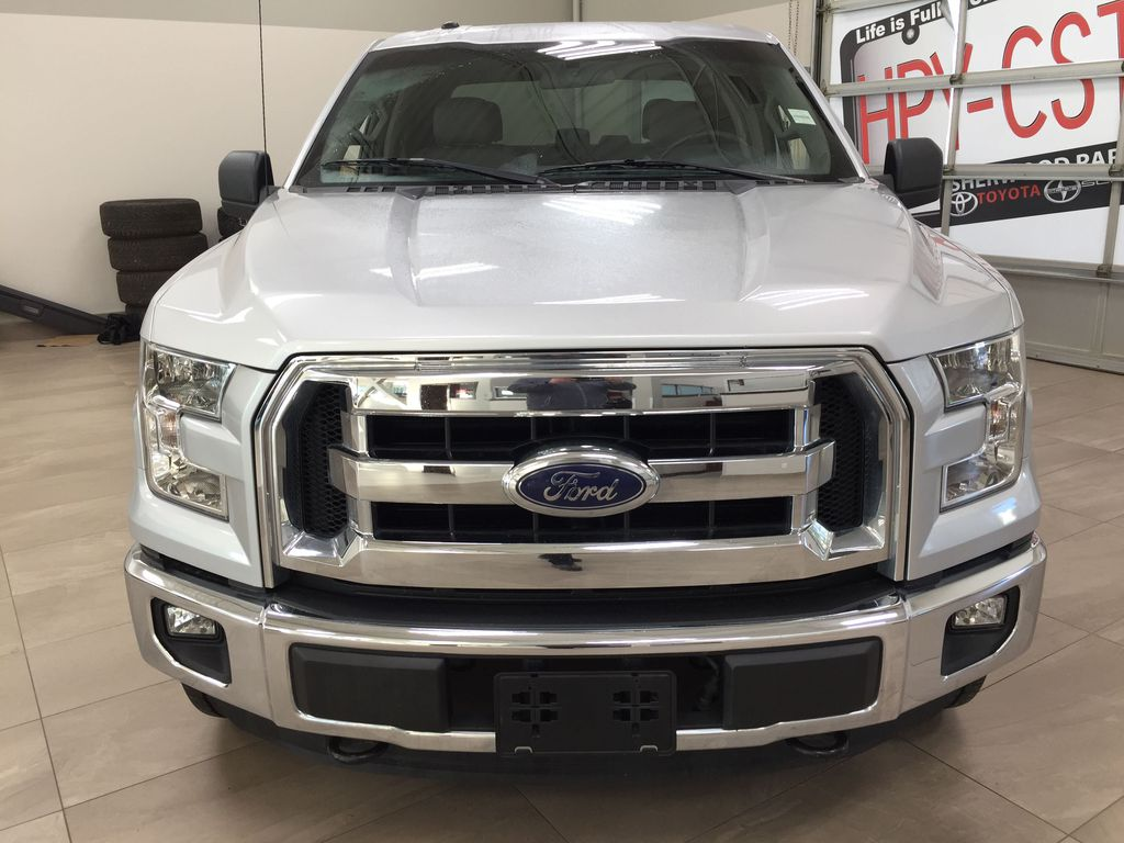SILVER 2016 Ford F-150 XLT SUPERCREW Front Vehicle Photo in Sherwood Park AB