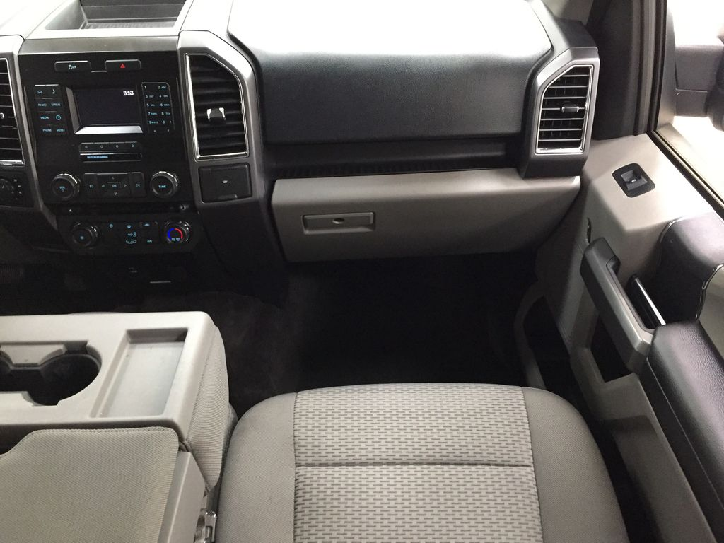 SILVER 2016 Ford F-150 XLT SUPERCREW Right Front Seat Photo in Sherwood Park AB