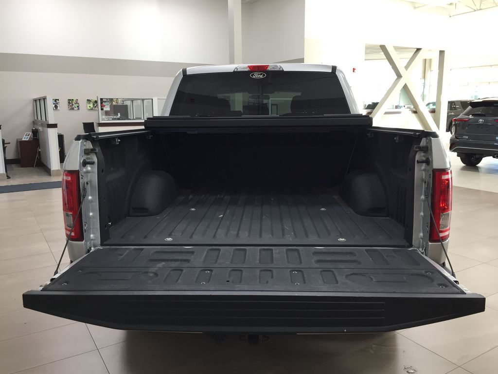 SILVER 2016 Ford F-150 XLT SUPERCREW Cargo Area/Rear Seats Photo in Sherwood Park AB