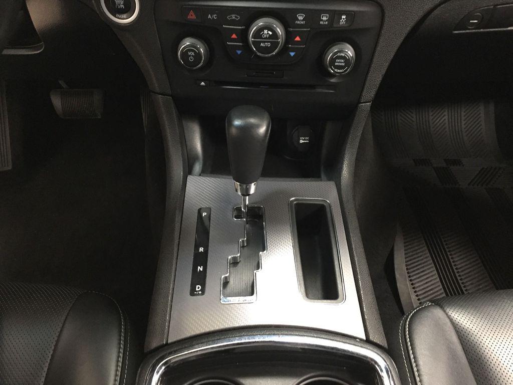 Black[Phantom Black Tri-Coat Pearl] 2014 Dodge Charger R/T LEATHER SUNROOF Lower Dash Photo in Sherwood Park AB